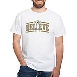 Fleur_De_Lis White T-Shirt