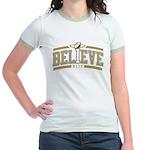 Fleur_De_Lis Jr. Ringer T-Shirt
