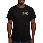 Fleur_De_Lis Men's Fitted T-Shirt (dark)