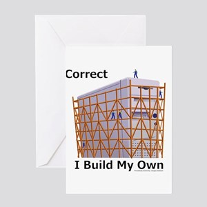 PC Builders Greeting Card