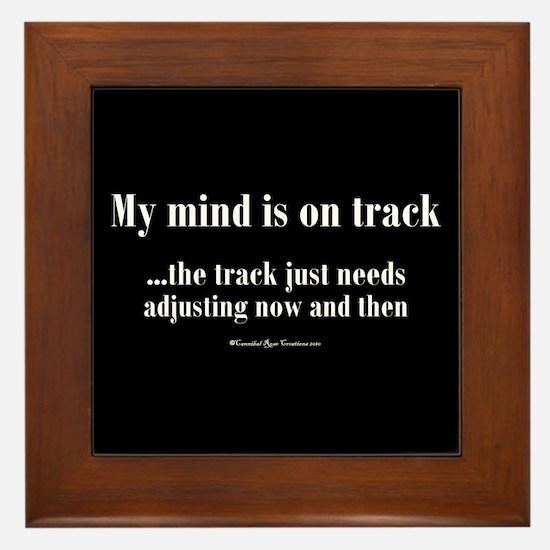 On Track Framed Tile