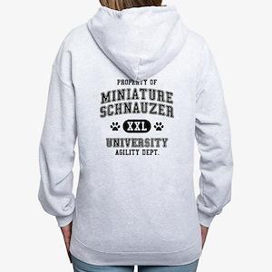 Property of Miniature Schnauzer Univ. Women's Zip