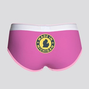 Made in Michigan Women's Boy Brief