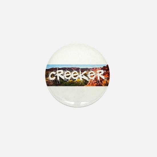 Funny Creeks Mini Button