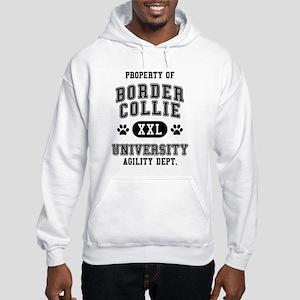 Property of Border Collie Univ. Hooded Sweatshirt