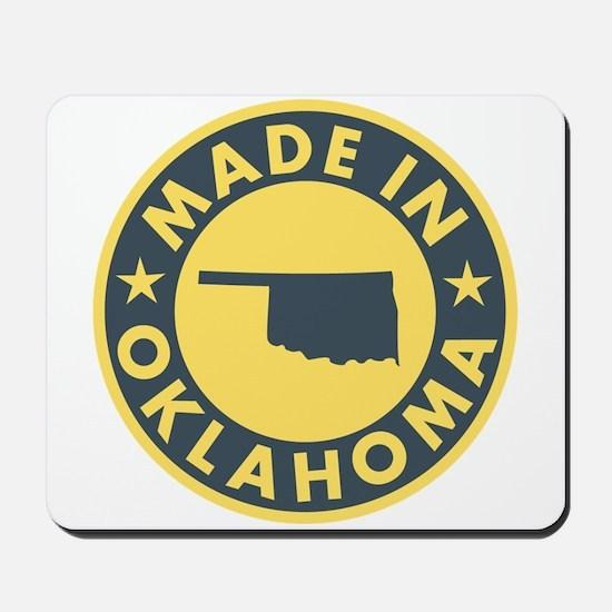 Made in Oklahoma Mousepad