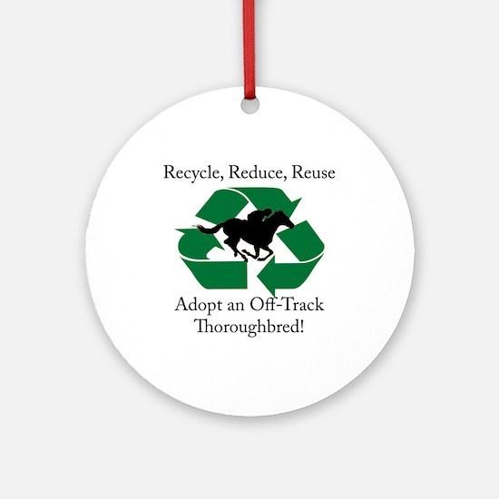 Adopt an OTTB Ornament (Round)
