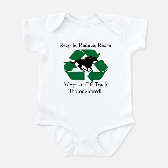 Adopt an OTTB Infant Bodysuit