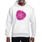 Celtic Rose TriSpiral Hooded Sweatshirt