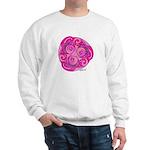 Celtic Rose TriSpiral Sweatshirt