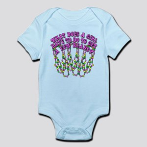 Sexy Mardi Gras Infant Bodysuit