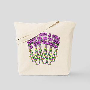 Sexy Mardi Gras Tote Bag