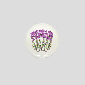 Sexy Mardi Gras Mini Button