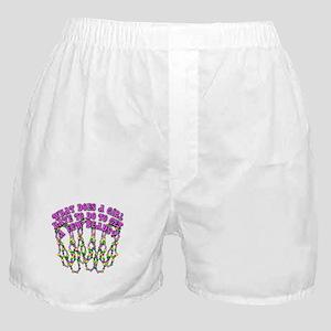 Sexy Mardi Gras Boxer Shorts