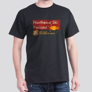 Northeast Ski Podcast Black T-Shirt