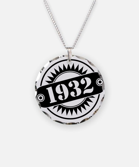 LIMITED EDITION MADE IN 1932 Necklace
