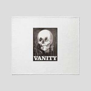 vanity has no limits Throw Blanket