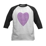 Purple Heart Kids Baseball Jersey