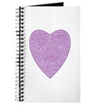 Purple Heart Notepad