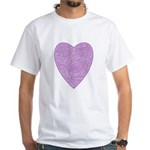 Purple Heart White T-Shirt