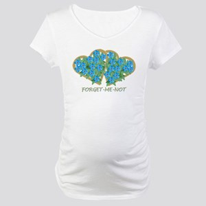 Forget-Me-Not Maternity T-Shirt