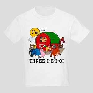 THREE-I-E-O Kids Light T-Shirt