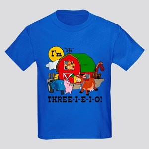 THREE-I-E-O Kids Dark T-Shirt