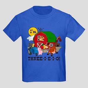 THREE-I-E-O Kids Dark T-Shirt