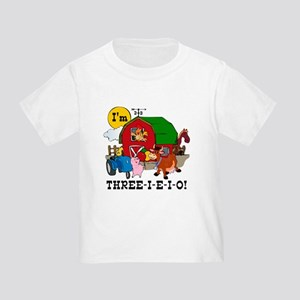 THREE-I-E-O Toddler T-Shirt