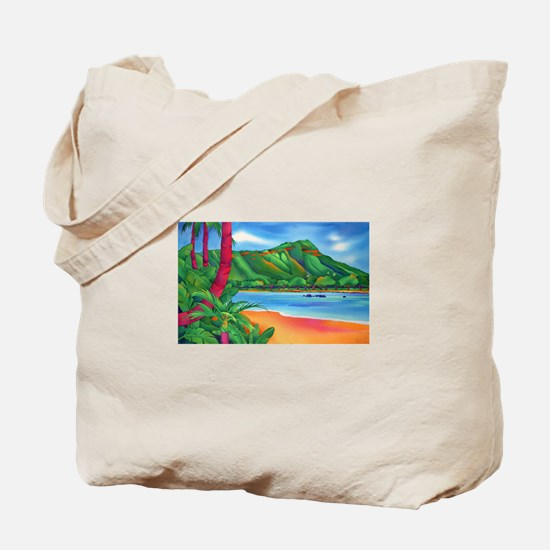 Diamond Head, Oahu Tote Bag