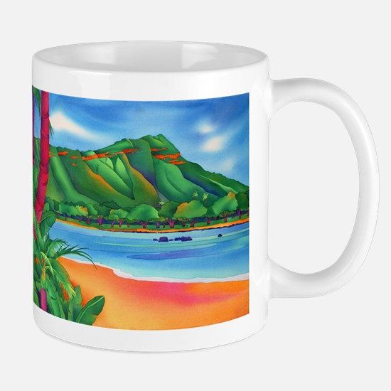 Diamond Head, Oahu Mug