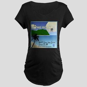 The Island Maternity Dark T-Shirt