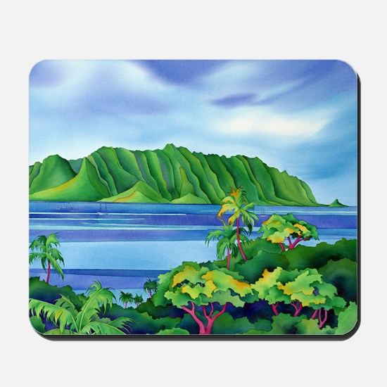 Kaneohe Bay, Hawaii Mousepad
