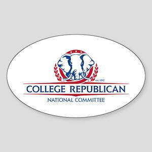 Campaign Materials Sticker (Oval)