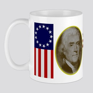 Thomas Jefferson Patriotic Quote Mug