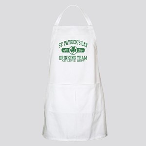St. Patrick's Day Drinking Apron