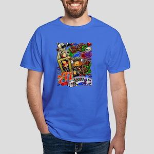 Dark T-Shirt Royal Heart Flush, Casino Art