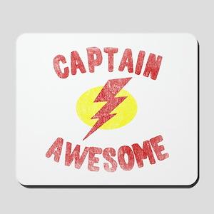 Captain Awesome Mousepad