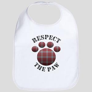 Respect the Paw Bib