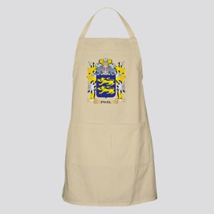 Pavel Family Crest - Coat of Arms Light Apron