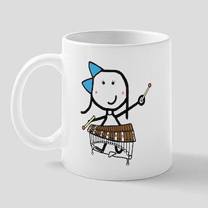 Girl & Pit Percussion Mug