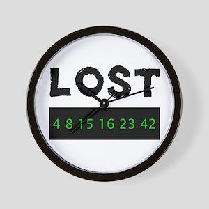 Lost 4 8 15 16 23 42 Wall Clock