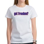 Got Freedom? U.S. Air Force Women's T-Shirt