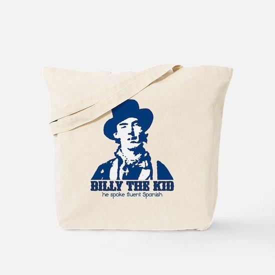 He Spoke Fluent Spanish Tote Bag