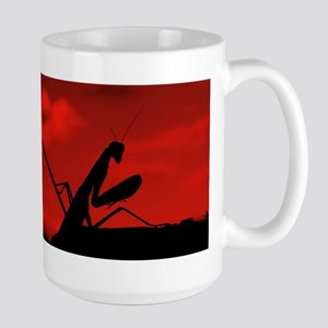 Red Sky Mantis Large Mug