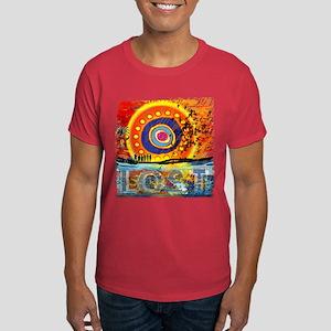 Lost TV Oceanic Sunset Dark T-Shirt