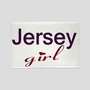 Jersey Girl Rectangle Magnet