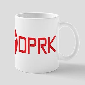 North Korea English Mug