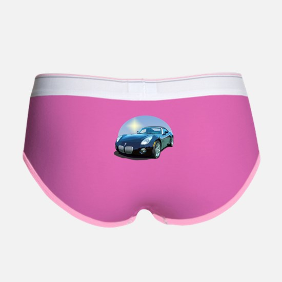 Cute Automobile Women's Boy Brief