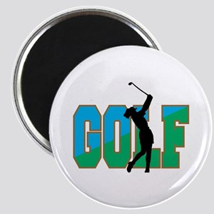 Women's Golf Magnet